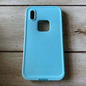 iPhone X Lifeproof phone case